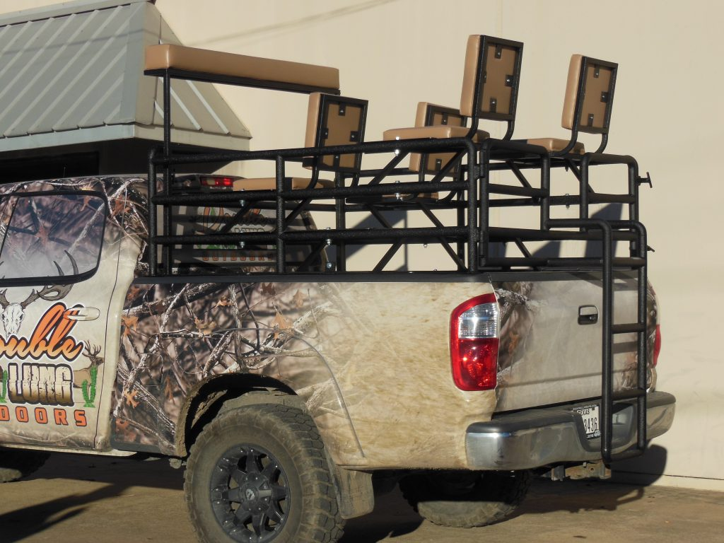 Whether youre looking to carry hunters up top in comfort safety and style or join them in a top drive rig triple c welding has years of proven